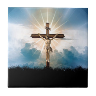 Carreau briller croisé de Jésus