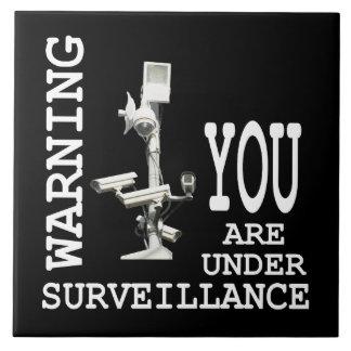 Carreau Caméras vidéo de surveillance