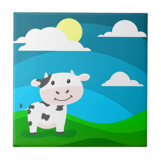 Carreau Caractère de vache