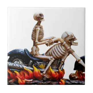 Carreau Cavalier squelettique