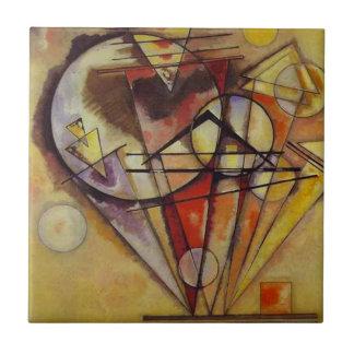 Carreau Cercles abstraits de Kandinsky