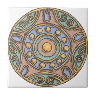 Carreau Cercles (en pastel)