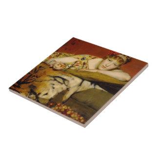 Carreau Cerises par Lawrence Alma-Tadema
