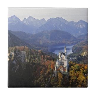 Carreau Château de l'Allemagne, Bavière, Neuschwanstein