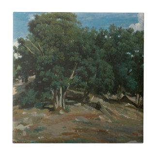 Carreau Chênes de Fontainebleau