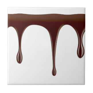 Carreau Chocolat fondu