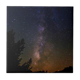 Carreau Ciel nocturne de manière laiteuse, la Californie