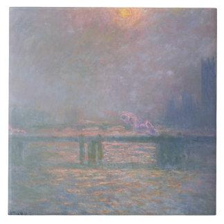Carreau Claude Monet | la Tamise avec la croix de Charing
