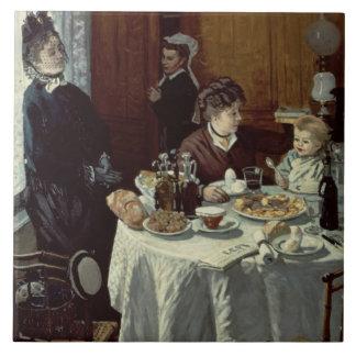 Carreau Claude Monet | le petit déjeuner