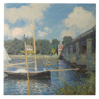 Carreau Claude Monet | le pont à Argenteuil