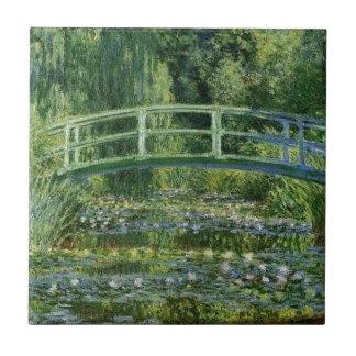 Carreau Claude Monet - pont japonais