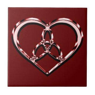 Carreau coeur celtique