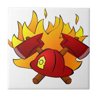 Carreau Combat du feu