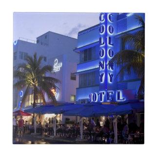 Carreau Commande d'océan, plage du sud, Miami Beach 2