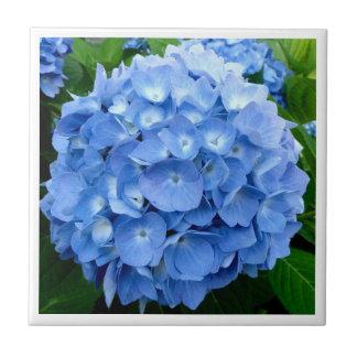 Carreau conception numérique de tuile de fleur d'hortensia