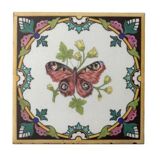 Carreau Conception vintage de la tuile c1872 Mintons