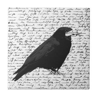 Carreau Corbeau noir