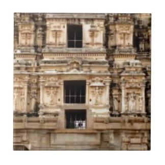Carreau côté détaillé du bâtiment