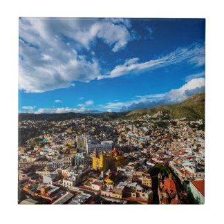 Carreau Coucher du soleil de Guanajuato