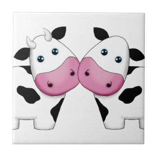 Carreau Couples de vache