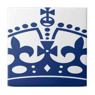 Carreau Couronne bleue