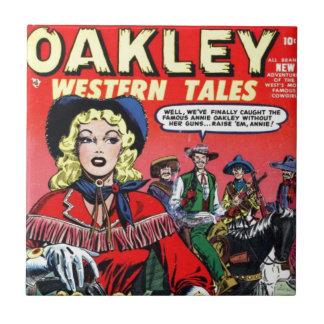 Carreau Cow-girl Annie Oakley