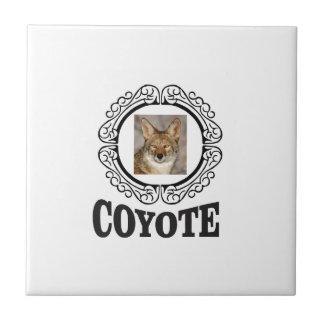 Carreau coyote rond