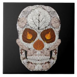 Carreau Crâne 11 de feuille d'Aspen