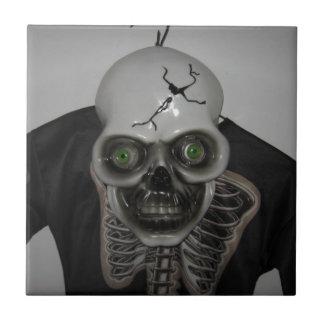 Carreau Crâne squelettique Halloween