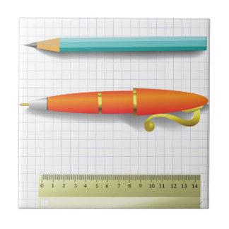 Carreau crayon