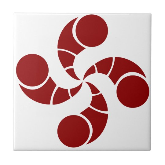 Carreau croix basque de golf