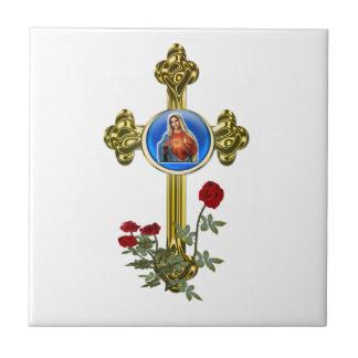 Carreau Croix de Mary de mère