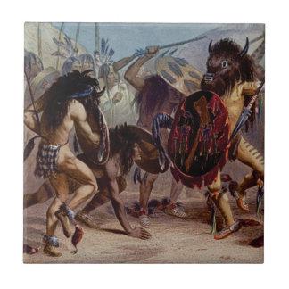 Carreau Danse de bison