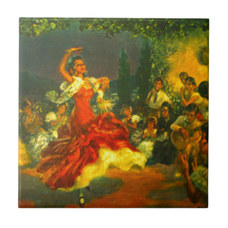 Carreau Danseur de flamenco