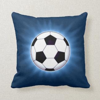 Carreau de ballon de football oreiller