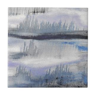 Carreau de céramique d'abrégé sur gris bleu