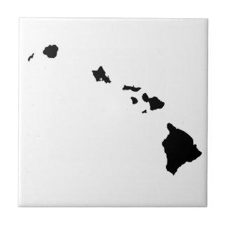 Carreau de céramique de chaîne d'île hawaïenne