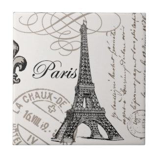 Carreau de céramique vintage de Paris…