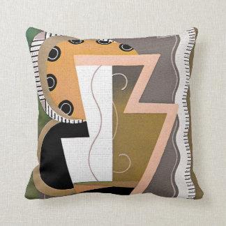 Carreau de conception d'art déco oreiller