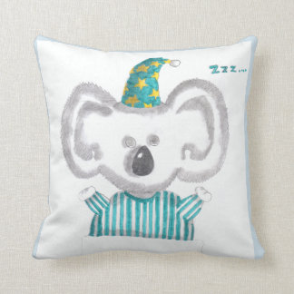 """Carreau """"de koala de sommeil"""" coussin"""