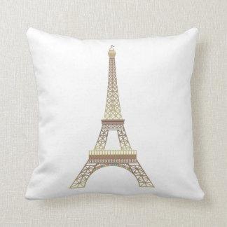 Carreau de Tour Eiffel Oreillers