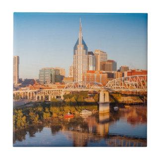 Carreau Début de la matinée au-dessus de Nashville,