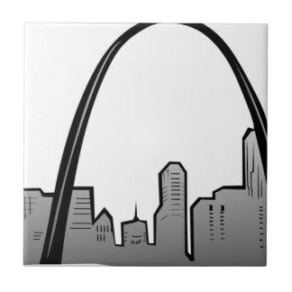 Carreau Dessin d'horizon de St Louis
