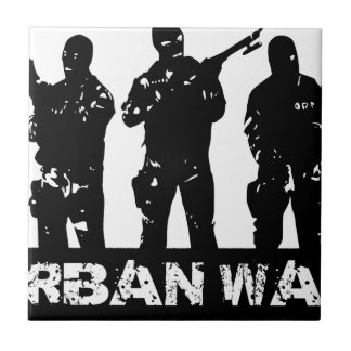 Carreau dessin urban war
