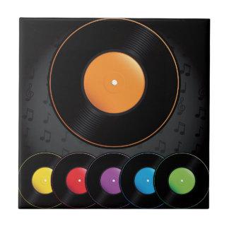 Carreau Disques de plaque tournante dans des couleurs