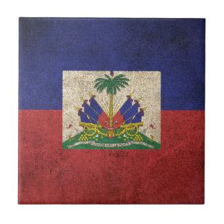 Carreau Drapeau affligé par cru du Haïti
