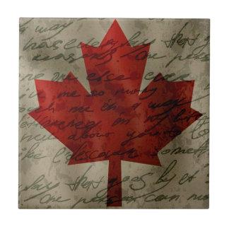 Carreau Drapeau de Canadean