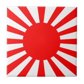 Carreau Drapeau de guerre de l'armée de Japonais impérial