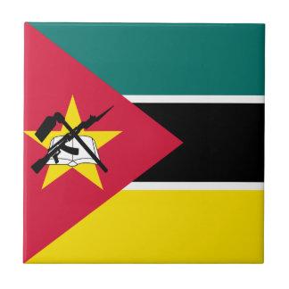 Carreau Drapeau de la Mozambique