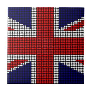 Carreau Drapeau des anglais de drapeau de cric des